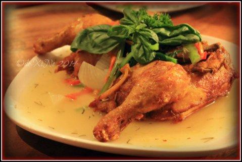La Comida de Antonio Ristorante Baguio Antonio's signature chicken