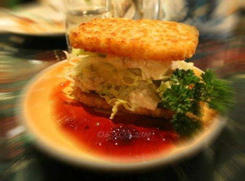 La Comida de Antonio Ristorante Baguio chicken hash sandwich