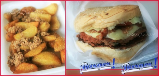 Manna Garden Cafe - Between Two Buns Belgian fries and grande burger
