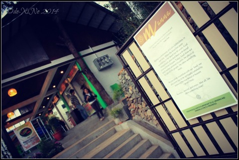 entrance to Manna Garden Cafe