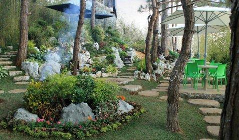 Manna Garden Cafe garden