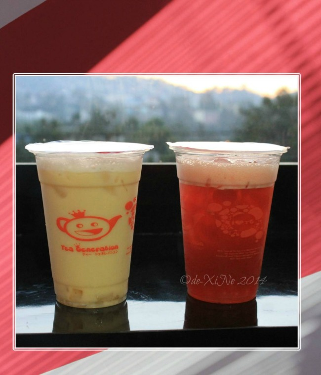 Tea Generation Baguio twists on passion fruit