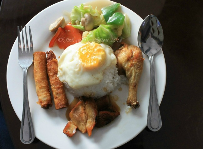 Cafe Royale at Crown Legacy Hotel Baguio rice topping