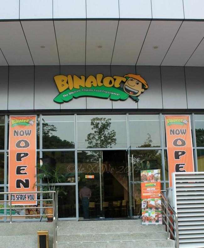 Binalot Crown Legacy Hotel Baguio 2014