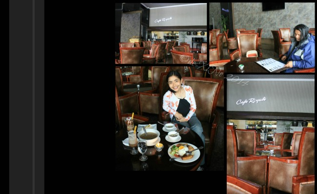 Cafe Royale at Crown Legacy Hotel Baguio 2014