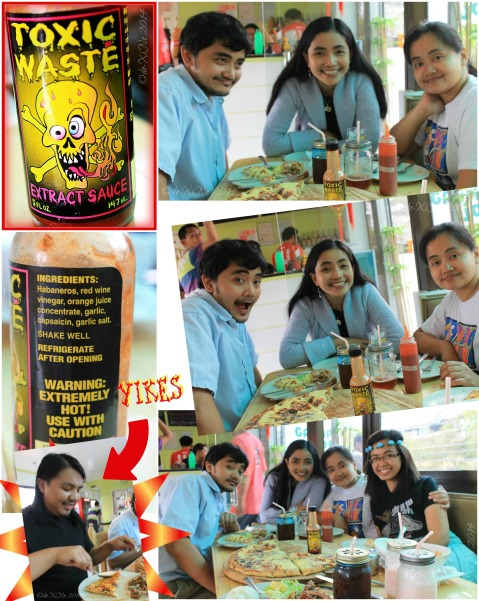 Grumpy Joe Baguio toxic waste extract hot sauce and its effects