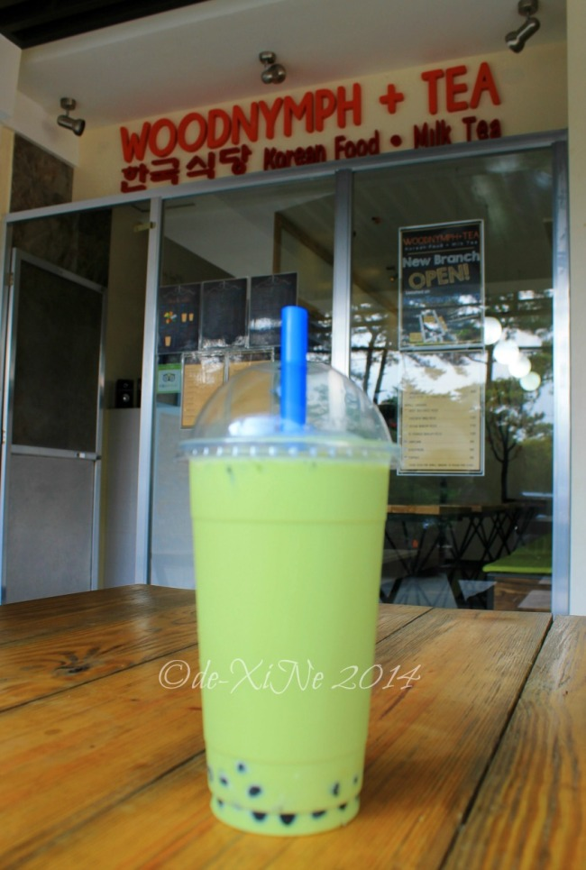 Woodnymph + Tea Baguio 2014 honeydew milk tea