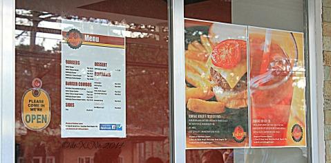 Redbuggy Burgers Baguio 2014 menu
