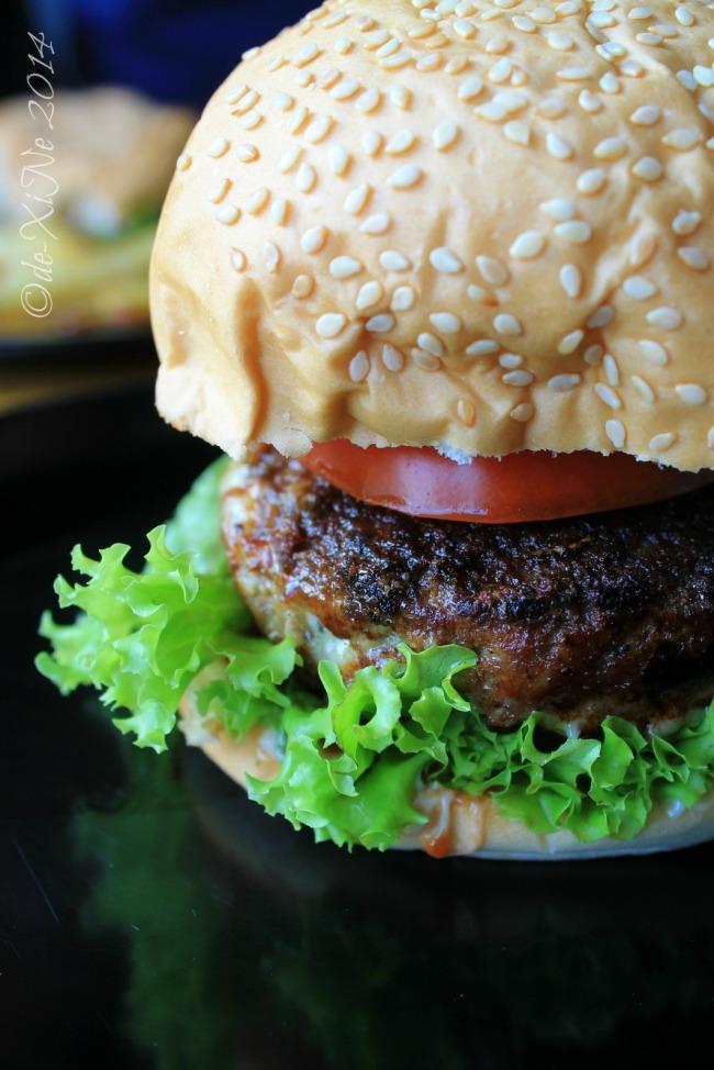 Redbuggy Burgers Baguio 2014 stuffed burger