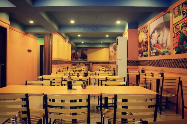 Binalot Baguio 2014 dining area, first floor