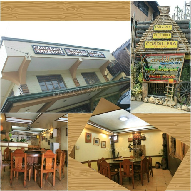 Inglay Restaurant and Calle Dulce Bakeshop La Trinidad 2014