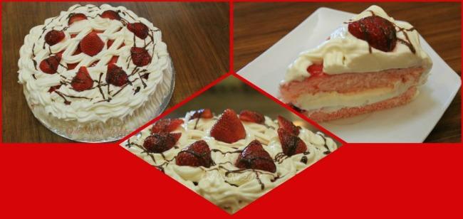 Calle Dulce La Trinidad strawberry shortcake