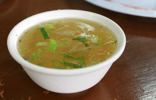 C.A Chia's Restaurant Baguio soup for starters