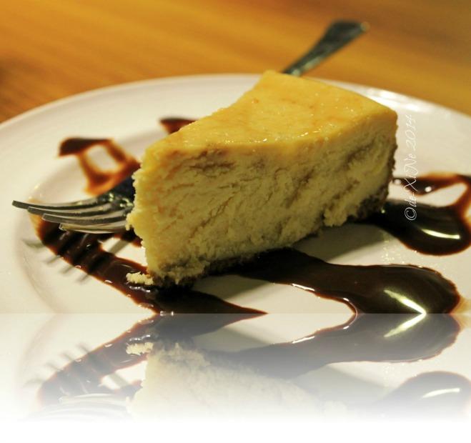 Ozark Diner Baguio dark beer cheesecake 2014