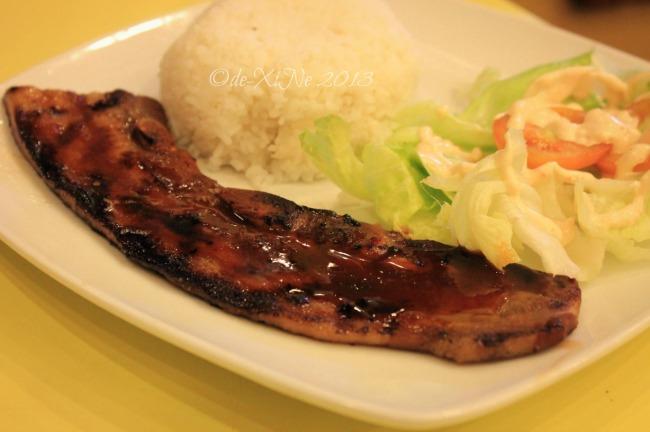 Carlos Pizza Camp John Hay Baguio pork bbq spareribs 2013