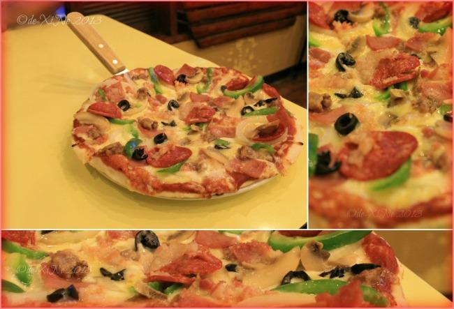 Carlos Pizza Camp John Hay Baguio capriccioso pizza 2013