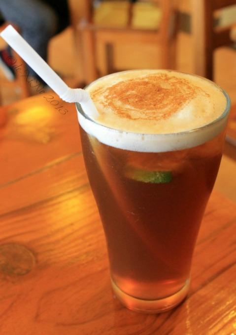 Posticino Baguio iced tea