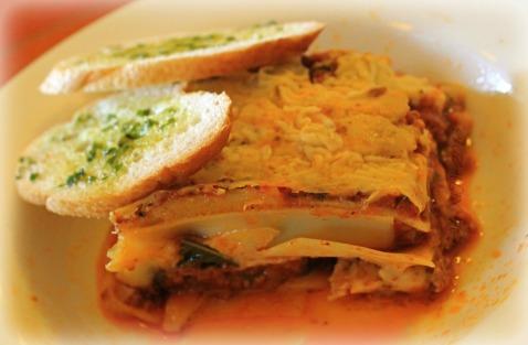 Posticino Baguio lasagna