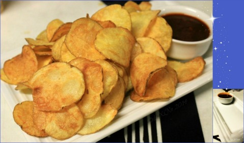 Reverie Resto Lounge Baguio 2014 potato chips
