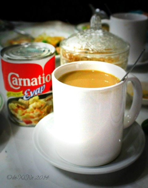Star Cafe Baguio 2014 coffee with evap milk for creamer