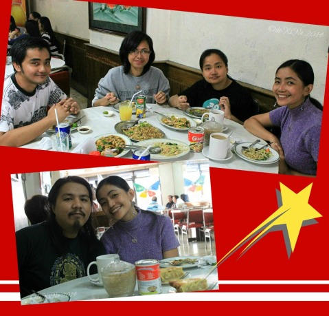 Last meal at Star Cafe Baguio 2014