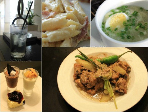 Oriental Legazpi Hotel Jasmine Restaurant food 2014