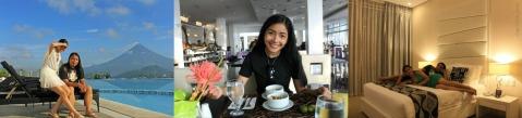 around Oriental Legazpi Hotel and Jasmine Restaurant 2014