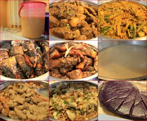 Kadis Grill and Fastfood Baguio food selection