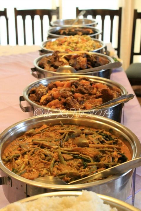 Kadis Grill and Fastfood Baguio chafing dishes uncovered 2014