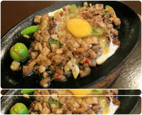 Just Another Damn Good Sick Joint at the Camp Baguio sizzling pork sisig 2014