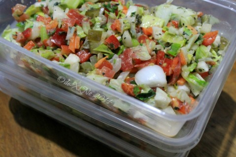 Hook'd Up Mediterranean Cuisine Baguio tahini salad