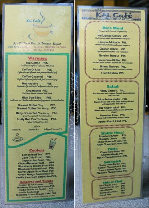 Kai Cafe La Trinidad 2014