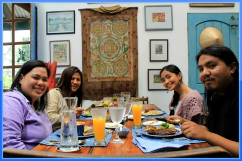 P3+1 lunch at Le Coq Bleu Baguio 2014