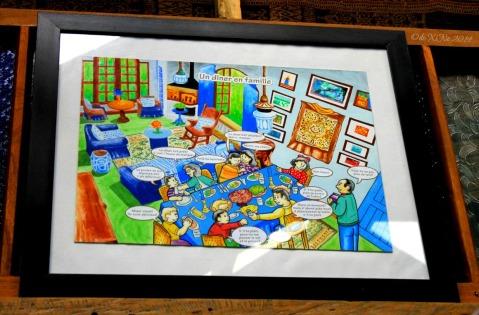 illustrated representation of Le Coq Bleu Baguio 2014