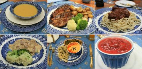 Le Coq Bleu Baguio potato soup, lamb, beef ragout, fish, moussaka, trifle 2014