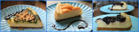 Cakes by Yda Baguio cheesecake slices 2013-2014a