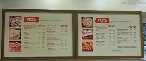 2014-07-23 Sbarro Baguio menu
