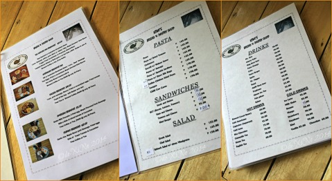 2014-07-28 Kiwis Bread and Pastry Shop Baguio menu