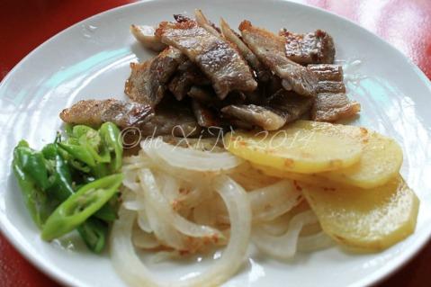 O Dong Tong Samgyeopsal House Korean Restaurant Baguio samgyeopsal set
