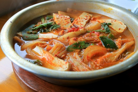 Keumsan Korean Restaurant Baguio kimchi chigae