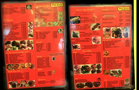 Mei Hwa Chinese Restaurant and Deli Baguio menu