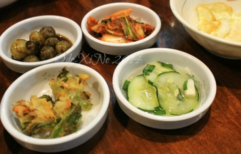 side dishes at Hodori Noodle House Baguio 2014