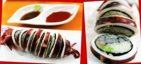 Keumsan Korean Restaurant Baguio ojingeo sundae/stuffed squid