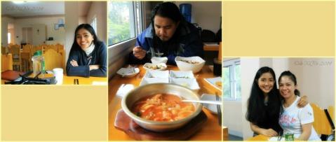 dining at Keumsan Korean Restaurant Baguio
