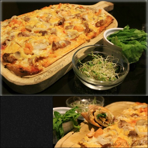 Melt Restaurant Baguio Miles selection panizza