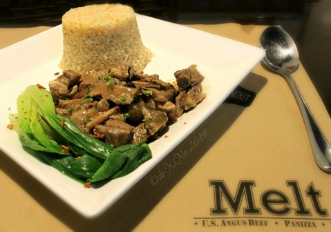 Melt Restaurant Baguio main entree Aussie tupa tim
