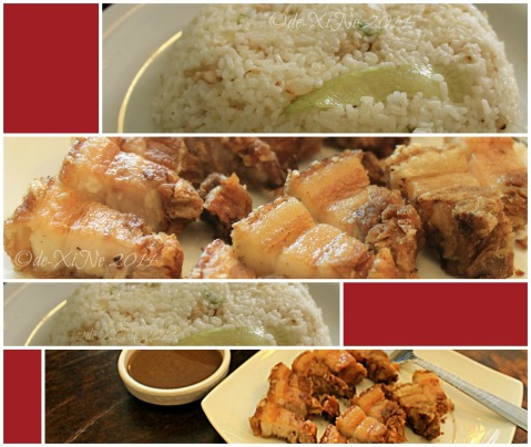Mei Hwa Chinese Restaurant and Deli Baguio chicken lettuce fried rice and lechon Macau