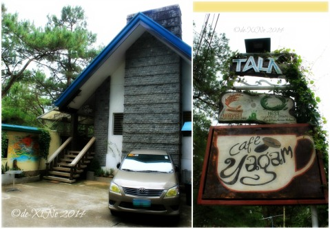 The house converted into Cafe Yagam Baguio