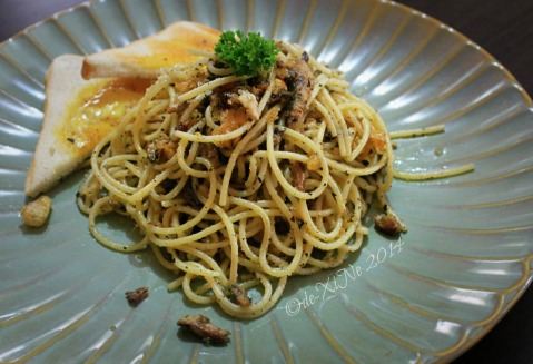 Gossip Coffee Shop Baguio smoked pasta