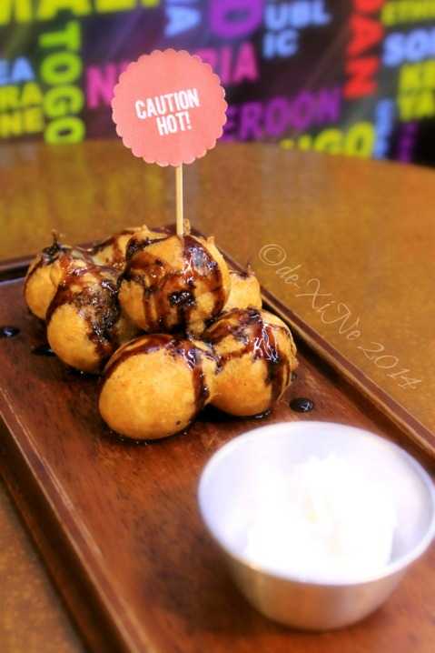 Escuela Restaurant+Cafe Baguio deep fried cookie bombs